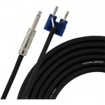 "Live Wire 16GA 1/4""-Banana Speaker Cable  25 Foot"