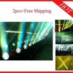 2pc 230W 7R Sharpy Beam Moving Head  Lighting With Flight Case Free Shipping