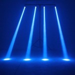 TSSS (Blue) LED Beam Spotlight with Mount Pinspot DJ Effect Stage Lighting Lamp