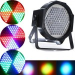 US SHIPPING PAR Stage Lighting 25W 127 LED RGBW Home Party Show Light DMX