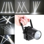 US PLUG 3W White LED Spotlight Pinspot DJ Disco Effect Stage Lighting Effect L7