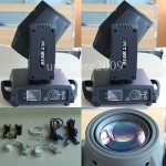 2pcs Sharpy Beam 230W Beam 7R Moving Head Light with Flight Case 16/20CH