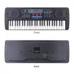 54 Keys Electronic Keyboard with AC/DC Adapter Multifunction Toy-Type NEW E1I7