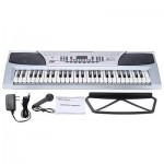 54 Keys Electronic Keyboard with AC/DC Adapter Multifunction Teaching-Type M0Q6