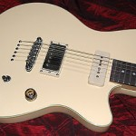 Ibanez CMM1IV Chris Miller You Me At Six Signature Guitar Ivory