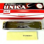 "Official TOMBO ""Unica 1244"" chromatic harmonica sliding/ Free shipping Japan"