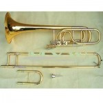 pro bass trombone kit Bb/F/Eb/G/D Key new 5 keys new