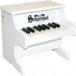 Schoenhut 18 Key My First Piano Kids Childs Baby Toy Music Learning Systm White