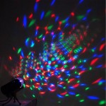 LED Lighting Full Color Rotating Lamp Disco Party Bar Club Effect Lights + stand