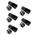 5 Set Professional Tenor Saxophone Mouthpiece Ligature&Cap Sax Parts