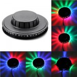 RGB LED Effect Light Rotating Color Party Stage Auto Sunflower Club Disco Lamp