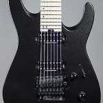 Jackson Pro-Series DK7M 7-String Dinky Electric Guitar METALLIC BLACK Finish