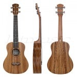 Kmise 26 Inch Tenor Ukulele Uke Hawaii Guitar Musical Instruments Zebra Wood