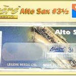 """Alto Sax Legere #3½ Reed - Légère synthetic """"permanent"""" synthetic GREAT SOUND"""