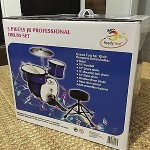 Brand New In Box -- Ready Ace 5-Piece Junior Professional Drum Set
