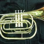 Jupiter Bb Marching French Horn (Model 550)