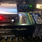 Audio Technica Headphone Amplifier AT-HA2 (open box, tested only)
