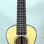 Solid spruce top laminated mahogany concert ukulele,soft bag,C33