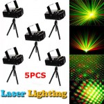 X5 Laser Projector Stage Lights Mini LED Lighting Evening Party DJ Disc KTV Show