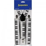 Beistle 60813 1-Pack Piano Keyboard Suspenders @@BUY SUN WEAR WED!@@