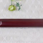 2 pcs Wooden Flute Head Case Brown Color Beautiful Nice