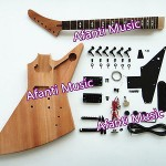 HOT! Afanti Music Explorer style electric guitar kit (AEX-817K)