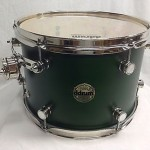 """Ddrum Paladin 13"""" Diameter Mounted Tom/Maple Shell/Zombie Green/NEW"""