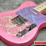 Fender Japan Exclusive Classic 69 Telecaster Pink Paisley HTF Rare From Japan