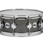 "DRUM WORKSHOP DRVBX514SVC 14x5.5"" BLACK NICKEL OVER BRASS SNARE"