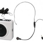 New Pyle Waist-Band Portable PA Speaker System Headset Microphone USB/AUX Input