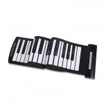 61 Keys USB MIDI Roll-Up Piano Electronic Piano Keyboard work with computer