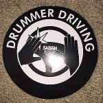 SABIAN STICKERS NAMM 2016 STICKERS MEASURE 4x4 Inch