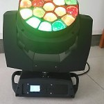 19X15W Bee-Eyes Beam Zoom LED Moving Head Stage Light DJ Disco Party