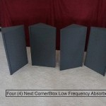 Acoustic Foam Bass Traps Next CornerBlox Corner 4 -2' units Studio SoundProof ??