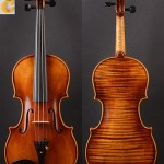 Amzing 1PC Back! Transparent brown ,A M20+ Strad model  Solo violin!!!!