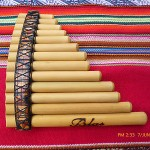 PAN FLUTE  13   PIPES - SEE VIDEO- FROM PERU- ITEM IN USA