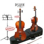 D'Luca Ebony Viola School Package 14 inches, MA400-14-PACK
