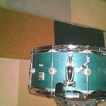 BB Custom 7x14 snare with internal mic system