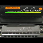 LEE OSKAR 1910 Hi G BLUES FOLK HARP HIGH G MAJOR DIATONIC HARMONICA IN CASE NEW