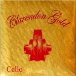 CLARENDON GOLD SERIES STRINGS 3/4 FULL SIZE CELLO STRING SET