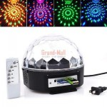 RGB 180 Degree 3W LED Disco DJ Stage Lighting Crystal Magic Diamond Effect Light