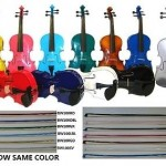 "VIOLA 16""15""14""13""12""11""10"" RED BLACK WHITE BLUE PINK GREEN PURPLE GOLD SILVER"