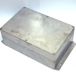 1 Aluminium Enclosure Box G125MF 222.5x146x82m GAINTA