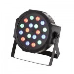 1 PCS RGB PAR64 18W LED Par Light for Party Wedding DMX Stage Lighting US STOCK