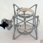 QM-17 Modern Mic Shock Mount fits most large size mics up to 2.4""