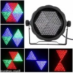 25W RGB 169 LEDs STAGE LIGHT DMX-512 Lighting Voice-control Party DJ Light 32R2
