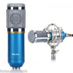 Professional BM-800 Condenser Microphone Studio Sound Speech Recording W/ Mount