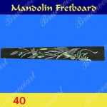 Mandolin Part - Left Hand Fretboard w/MOP Art Inlay (G-40)