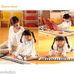 61 Keys Flexible Roll-Up Piano MIDI Electronic Keyboard Hand Roll Piano K0A2