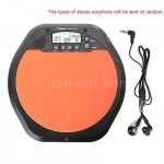 LCD Digital Screen Drum Practice Drummer Training Pad Metronome Drum